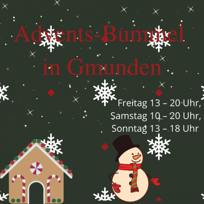 Advents-Bummel in Gmunden