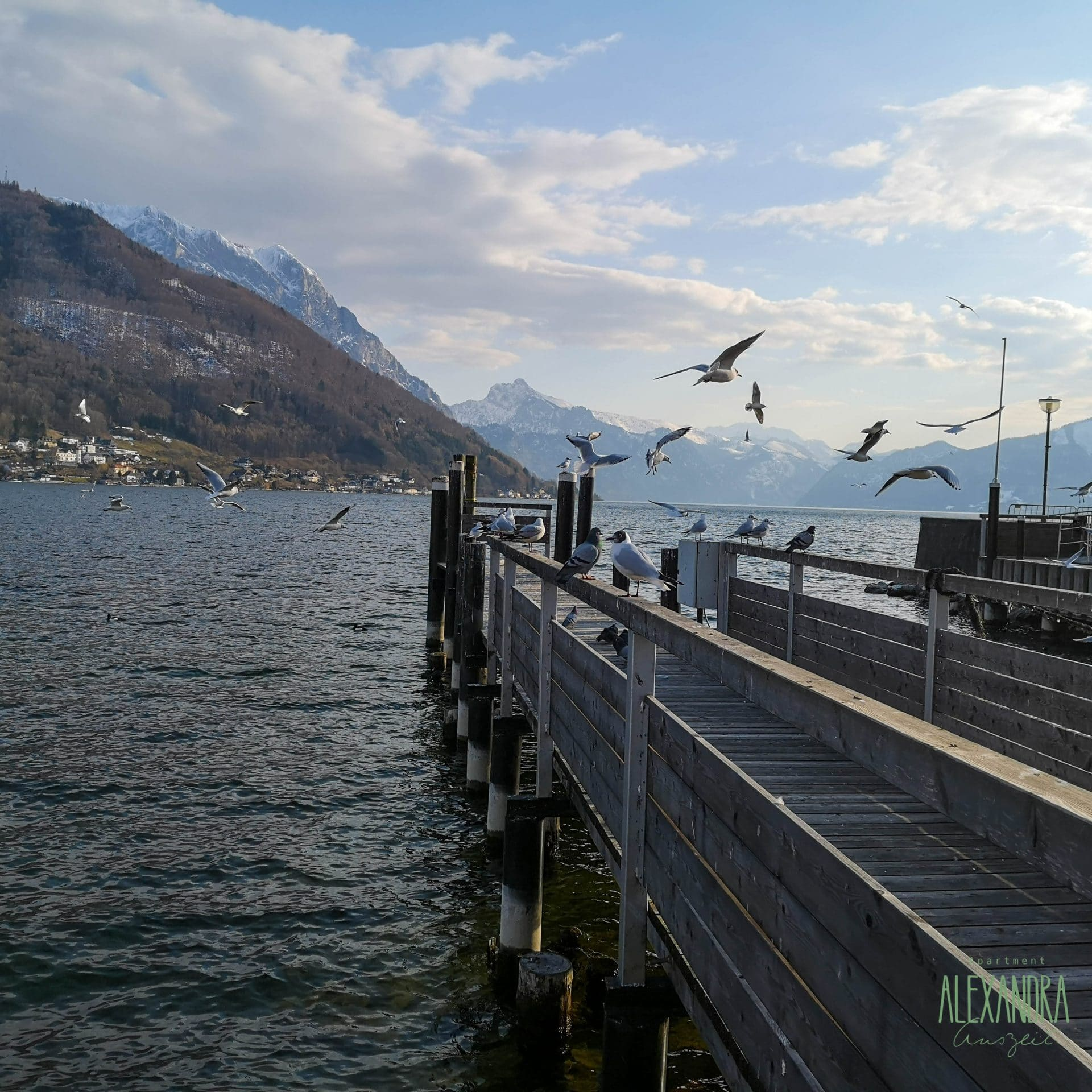 Traunsee im Winter